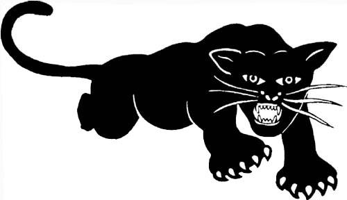 Logo der Black Panther Party